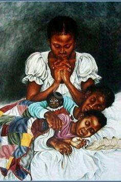 AFRICAN AMERICAN ART Spiritual Nap III Sterling Brown 10x8 Teleky