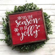 22 Super Ideas For Wood Pallet Projects Christmas Products Christmas Wooden Signs, Merry Christmas Sign, Holiday Signs, Country Christmas, Winter Christmas, Christmas Sayings, Holiday Decor, Pallet Projects Christmas, Wood Projects