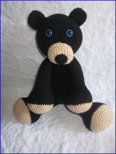 The Adorable Bear Crochet Pattern by MelissasPatterns on Etsy, $3.00