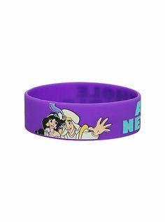 Disney Aladdin Whole New World Rubber Bracelet | Hot Topic