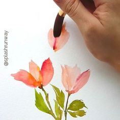 Tulips for this week's #splashrunwayvideos did any one of you manage to see them IRL this year? They came to Singapore's Gardens by the Bay ☺️ Use #splashrunwayinspired if this video has helped you . Let me know if you'd like to request for any tutorials; I'll try to make it happen! . . . . . . #watercolour #hyperlapse 1.5x #tulips #watercolorflowers #oddlysatisfying #satisfyingvideo #videoart #artprocess #arts_we_inspire #aquarela
