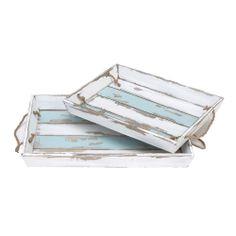 Beach chic trays!