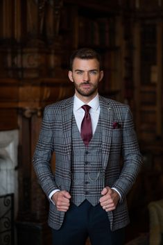 Check out our collection of burgundy suits. This colour looks great as a plain suit, checked suit and tweed suit ___________________________________________   #burgundysuit # bespokesuit weddingsuit #menssuits #menstyleguide #groomstyle #gqstyle #dapperlydone #tailoredsuit #groominspiration #menslaw #weddinginspo #realmenstyle #simplydapper #gentlemenstyle #suitstyle #suitsupply #groomsuit #groomstyle #meninsuits #sprezzaturra #bespokesuit #mensuitstyle #gqinsider #weddingblog #tweedsuit