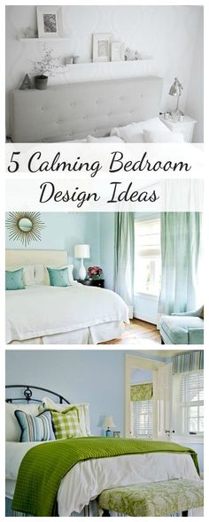 5 calming bedroom design ideas - Calming Bedroom Color Schemes