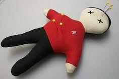 Star Trek red shirt pincushion... such a cute idea!