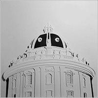 Framed in a matt black frame with a cream mount. Tate Britain, Atrium, Paper Cutting, Art Gallery, Darth Vader, Building, Winter, Winter Time, Art Museum