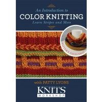 An Introduction to Color Knitting DVD - DVDs/Videos - Knitting | InterweaveStore.com