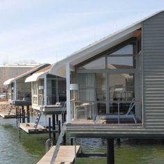 Jedes Haus mit Terrasse.