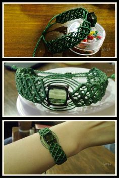 Macrame bracelet handmade