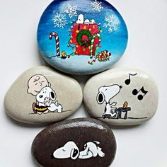 Turkish Artist Nbitasarim Creates Amazing Art On Rocks. snoopy severlere .