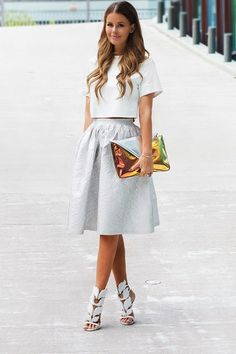 Nette Nestea - Giuseppe Zanotti White Leaf Sandals ............. it'd be cool to DIY some leaf cuffs to wear with heels ... fairy wear