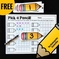 This FREE activity is perfect for working on number recognition, counting, and…