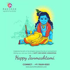 Celebrate the birth pf Almighty! Spread the bliss of janmashtami Wishing you and your Family #HAPPY  And #BLESSED #JANMASHTAMI Looking for Designing Company ???? Visit Us Our Different Approach We are providing following services for cultivate real estate Contact Us Our Unique Design 9565443351,8840438745,7618033205 Auctech IT Solutions #logo #Designing #Brochure #3dwalkthrough #3DViews  #Office #branding #Video #presentation #live #Shoot #Corporate #Digital #Promotion #SEO #SMOCall… Marketing Communications, Seo Marketing, Digital Marketing, Janmashtami Wishes, Happy Janmashtami, Office Branding, Corporate Branding, Seo Site, Logo Designing