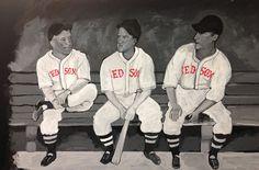 Red Sox chalk art - wfm Medford by Elissa Surabian