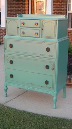 I am painting Megan's dresser for her new room this color ~ LOVE it!!