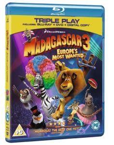Madagascar Europe's Most Wanted Blu-ray Blu-ray DVD Digital Copy) Madagascar 3, Dvd Blu Ray, Most Wanted 2, Tom Mcgrath, Noah Baumbach, Cedric The Entertainer, Ben Stiller, Chris Rock, Cute Dogs Breeds