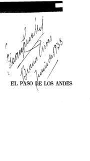 El Paso de las Andes. Crónica histórica de las operaciones del ejercito de los Andes, para la restauración de Chile en 1817 Chile, Internet, Social Science, Mirror, Initials, Step By Step, Chili