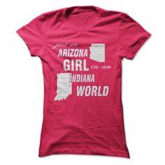 Arizona Girl in Indiana #hoodie #Tshirt