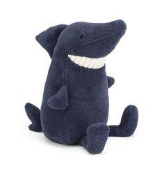 Jellycat knuffels Toothy shark Jellycat 22 cm