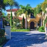 Located in the tranquil seaside town of Jupiter, in northern Palm Beach County, this five-bedroom, seven-bathroom home is located at 524 Bald Eagle Drive. Part of The Ritz-Carlton Destination Club, the home is situated near a golf course designed by Jack Nicklaus and owners have access to all of the Club's lavish amenities -- including the spa, fitness center and tennis courts.