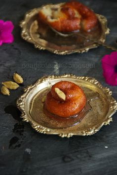 This is a lovely dessert from Odhisa  and I have fond memories of gulping it down warm and fresh from the sweet shop. The town centre is lined up with shops specialising with this particular dessert. It is very simple and basically a different version of Gulab jamun. As most of Odiya desserts are milk based and milk is curdled to make chenna that is widely used. Fresh chenna is used in this recipe
