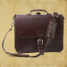 Shop Leather Briefcase Thin | Saddleback Leather Co.