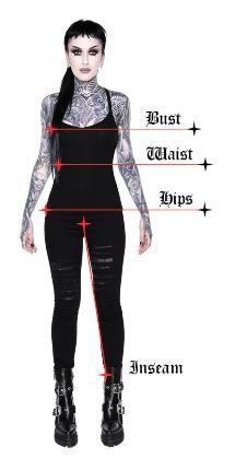 Women's Bottoms | Jeans, Leggings, Skirts & Shorts | Killstar Bullet Bra, Goth Boots, Women's Boots, Dog Hoodie, Womens Size Chart, Collar Dress, Bell Bottoms, Alternative Shoes, Knitwear