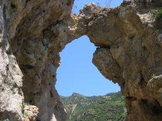 Pythagoras Cave, Samos island, Greece