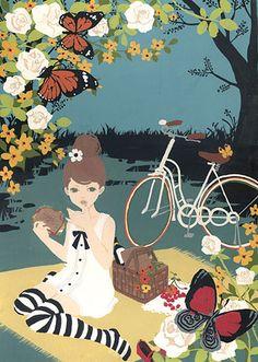 Katogi Mari Illustration - イラストレーター 加藤木麻莉(カトウギマリ)
