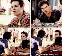 ... teen wolf more isaac lahey teen wolf teen wolf isaac teen wolf stiles Teen Wolf Season 3 Void Stiles