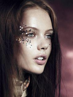 Vogue UK - Lachlan Bailey - 2010. Makeup by Lisa Eldridge http://www.lisaeldridge.com/gallery/editorial/ #Makeup #Beauty #Fashion