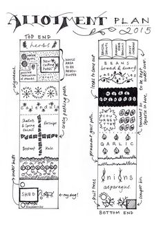 Allotment plan b+w