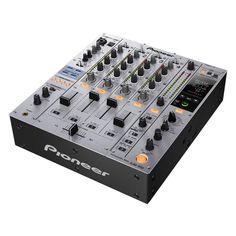 Pioneer DJM-850-S DJ-mixer silver    www.bax-shop.nl/...