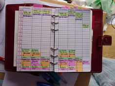An organized filofax - need to set up a layout like this!