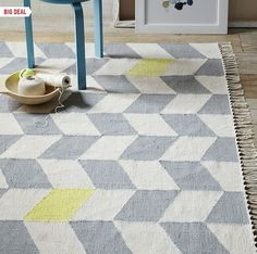 Check out this beautiful #FairTrade rug from @West Elm. Perfect for #MothersDay. #FairMoms