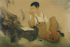 In this photo gallery, see Tyrus Wong'sability to use a wide array of mediums and reach out to diverse audiences.Over his career, Wong's atmospheric, emotive and poetic paintings inspired animated films for Disney, live-action cinema for Warner Bros., greeting cards for Hallmark, anddinnerware for Winfield Pottery.