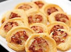 Cheese and Sauerkraut Pinwheels