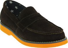 02e45b1aa85 Boys  Florsheim Rodeo Penny Jr. - Sand Suede with Brick Sole with FREE  Shipping