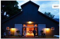 Traveller's Rest is a great wedding venue for brides looking for a rustic, outdoorsy wedding. The barn is great for a country-feel reception!