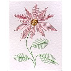 These Free Greetings Card Paper Embroidery Patterns From