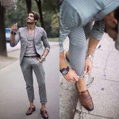 shoes by Mario Bruni Stylish Men, Preppy, Men's Shoes, Cute Outfits, Mens Fashion, Suits, How To Wear, Men's Style, Men Fashion