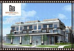 #BriarHillCityTowns  is a new mixed-use townhouse and commercial development at Briar Hill Avenue by Dufferin Street in North York, Ontario.
