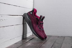 adidas Alphabounce EM W Mystery Ruby/ Bahia Magenta/ Grey Five Air Max Sneakers, Adidas Sneakers, Tenisky Adidas, Yeezy, Magenta, Nike Air Max, Black And Grey, Mystery, Shoes