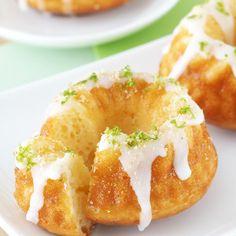 Key Lime Pie Bundt Cakes