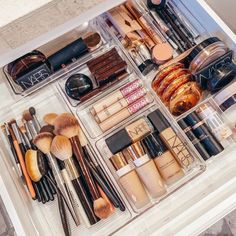 Makeup Storage Cabinet Ideas through Makeup Drawer Organization Ideas many Makeup Forever Lip Liner. Makeup Organization Ideas Diy plus Makeup Bag As Seen On Shark Tank Bathroom Vanity Organization, Makeup Drawer Organization, Closet Organization, Bathroom Ideas, Organized Bathroom, Organization Ideas For The Home, Makeup Storage Drawers, Organisation Ideas, Bathroom Interior