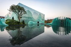 Guilin Wanda Cultural Tourism Exhibition Center 桂林万达文旅展示中心 | Guilin, China | TengYuan Design Institute + WAT Studio #china #landscapearchitecture #design #project