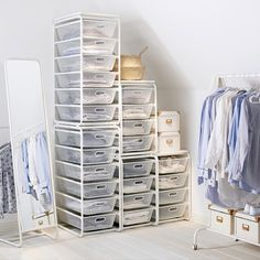 Adaptable storage like the #IKEA ALGOT system helps you to create custom storage…