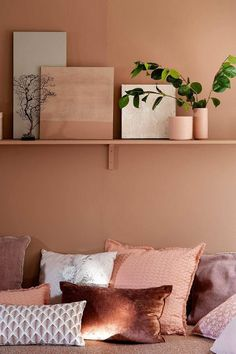 Terra Cotta, a very natural land Home Bedroom, Bedroom Decor, Deco Design, Bedroom Colors, New Room, Interior Inspiration, Ikea, Interior Design, Home Decor