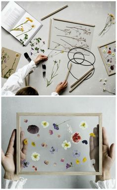 Frame by Moebe I wonder if you could just press flowers in-between glass like this? The post Frame by Moebe I wonder if you could just press flowers in-between glass like th appeared first on diy. Cuadros Diy, Craft Projects, Projects To Try, Diy And Crafts, Arts And Crafts, Fleurs Diy, Do It Yourself Inspiration, Art Diy, Ideias Diy
