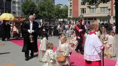 Sacramentsprocessie Antwerpen 22 juni 2014